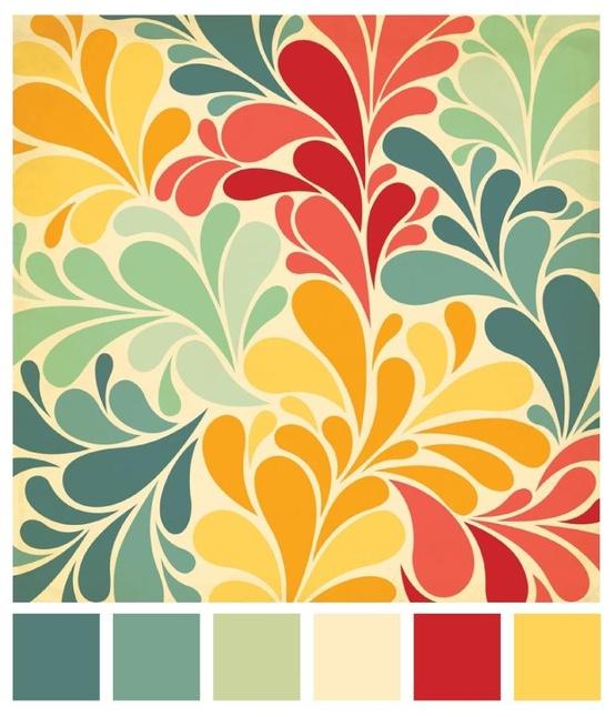350 Best Color Schemes Images On Pinterest: [صور] افكار تنسيقات الوان ديكور منزلي داخلي (4)
