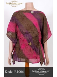 We also sell Batik in our shop
