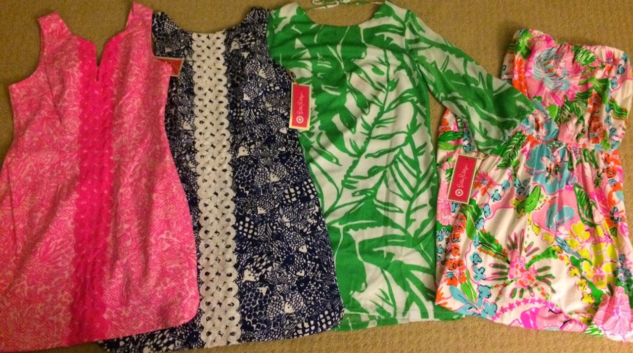 lilly for target blogger haul store opening shift dress