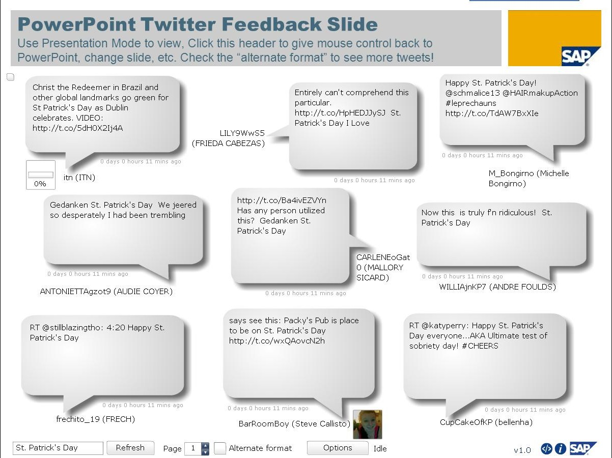 Inserting Youtube Video Into Pp Twitter In Slide How To Embed Twitter In A  Powerpoint File
