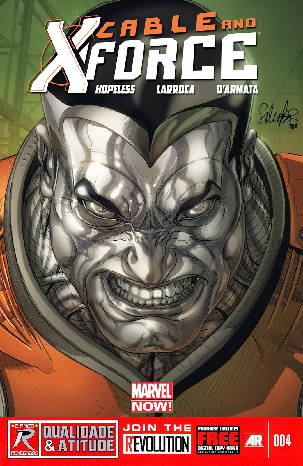 Nova Marvel! Cable e a X-Force #4