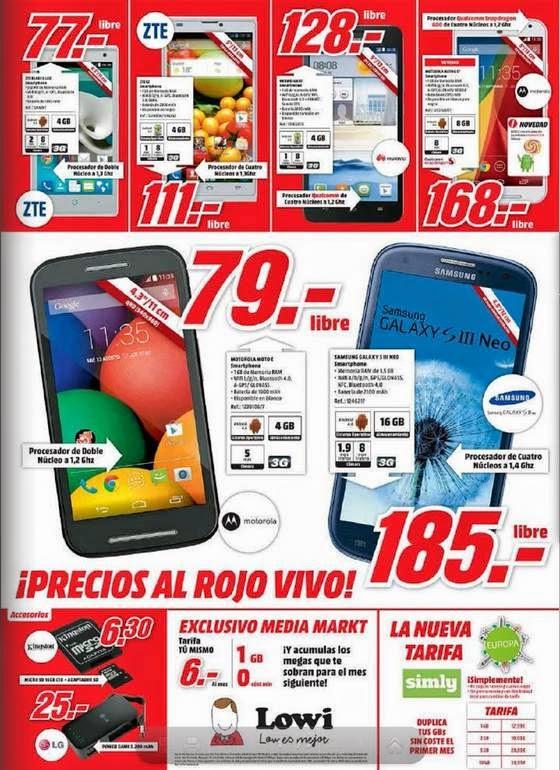 Smartphone Libres Baratos 1-2015
