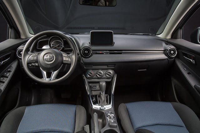 Interior view of 2016 Scion iA