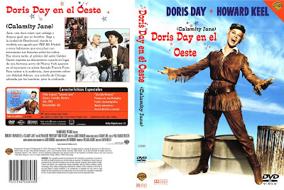 Cover, Caratula, Dvd: Doris Day en el oeste