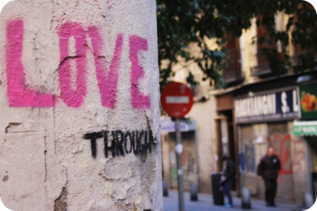 Graffiti: love through