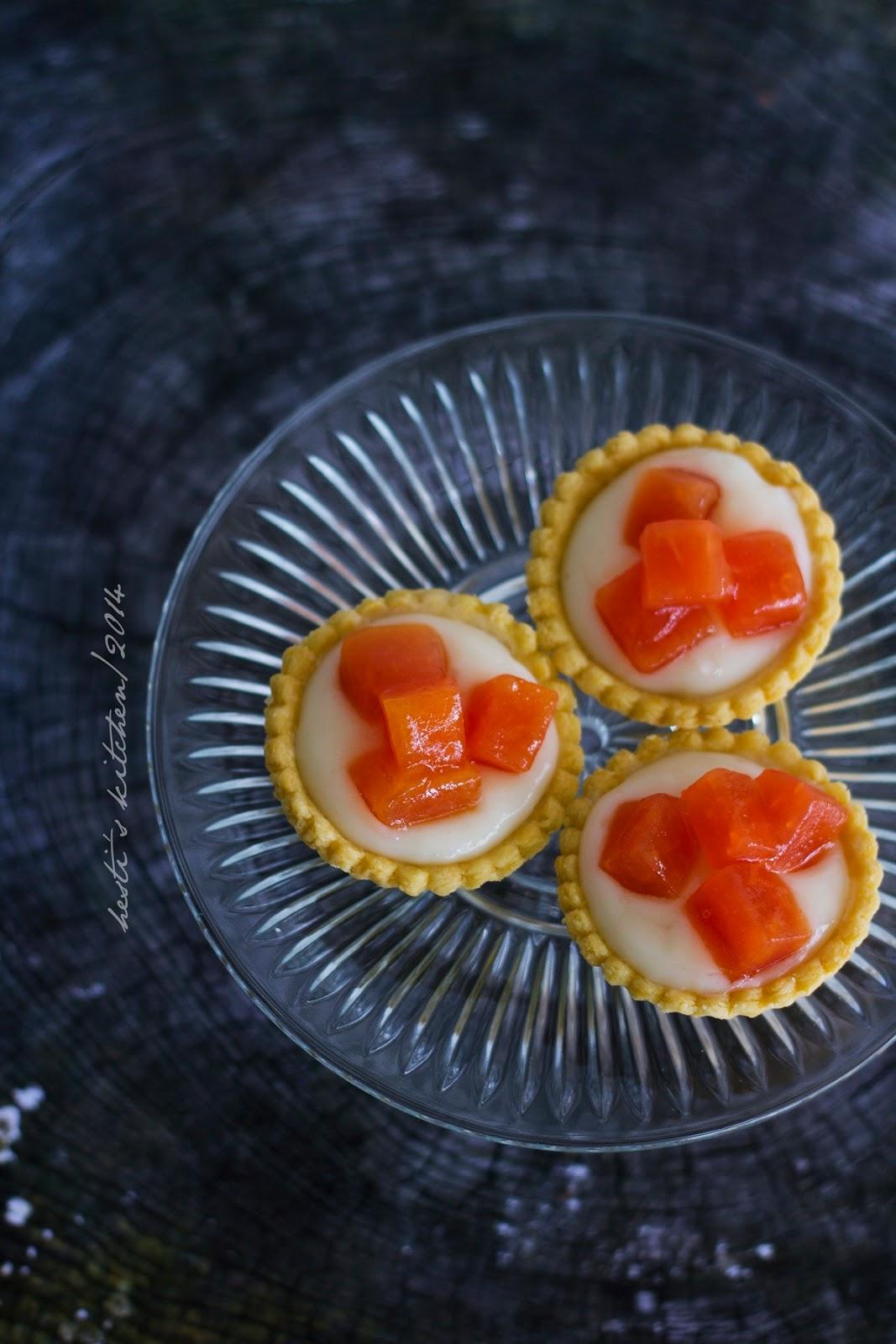 papaya tarts
