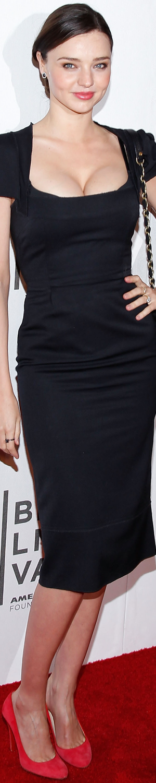 Miranda Kerr in Roland Mouret Galaxy 2011 Good Doctor Premiere