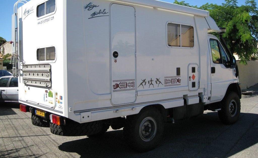 v hicule r cr atif motoris caravaning vendre camping car 4x4 scam3 5st iveco. Black Bedroom Furniture Sets. Home Design Ideas