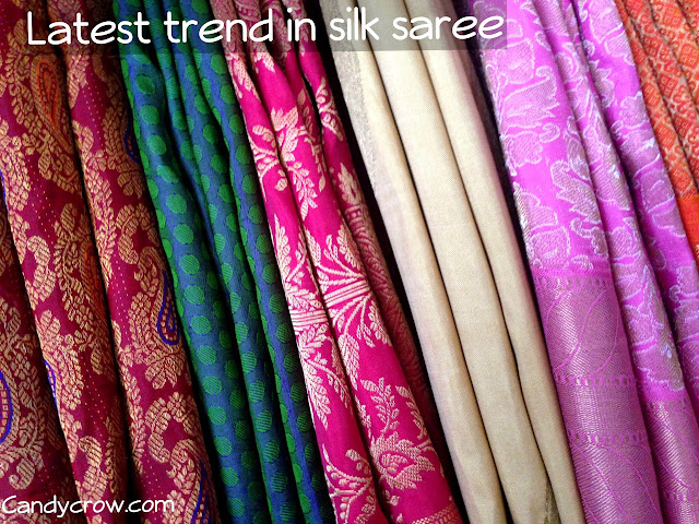 Latest Trends in Silk Saree
