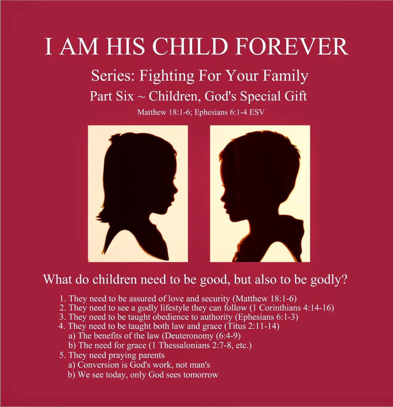 Series: Fighting For Your Family