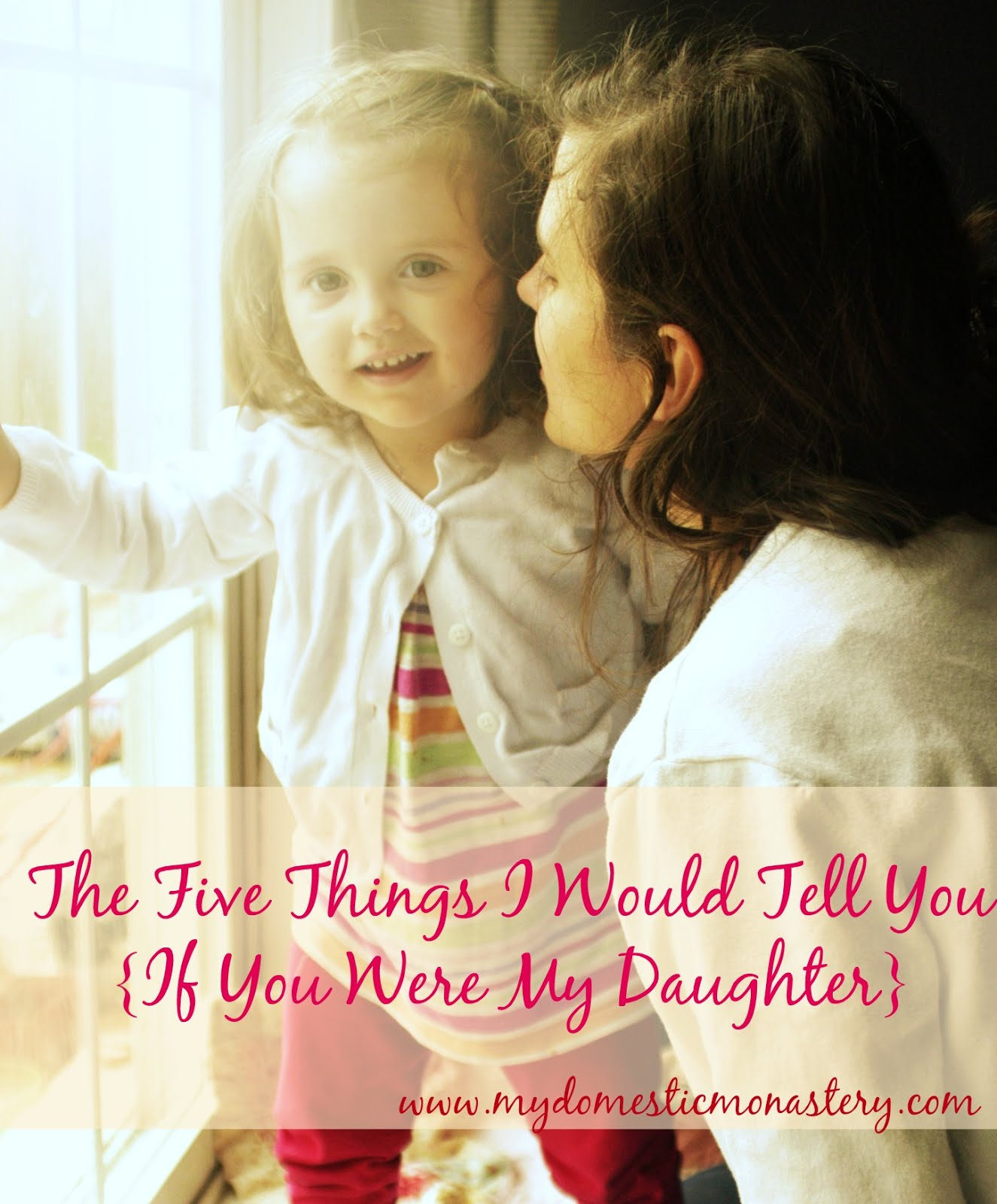 The Five Things I Would Tell You...