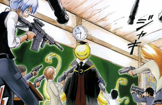 Rekomendasi Anime misim dingin 2014/2015 : Ansatsu Kyoushitsu