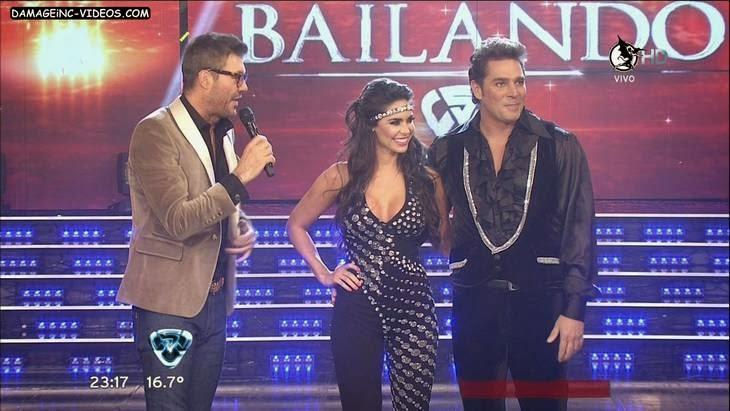Argentina showgirl Sabrina Ravelli hot cleavage HD video
