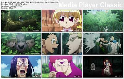 """Download Film / Anime Hunter x Hunter 2011 Episode 73 """"Kegilaan dan Kesadaran"""" Bahasa Indonesia"""