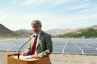 jorge bunster ministro de energia