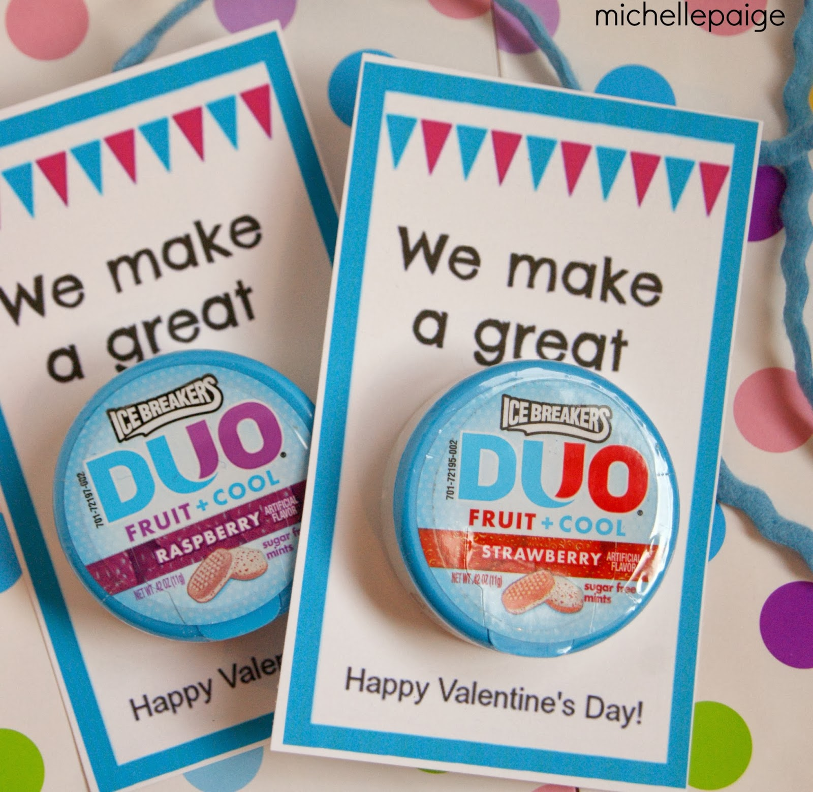 We Make a Great Duo Valentines