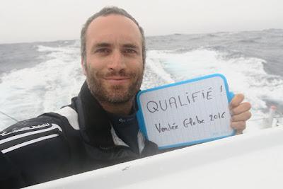 Fabrice Amedeo, qualifié pour le Vendée Globe 2016 !
