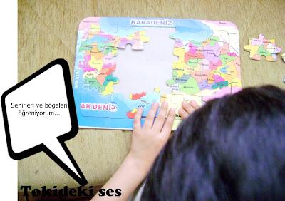 Türkiye haritası puzzle oyunu