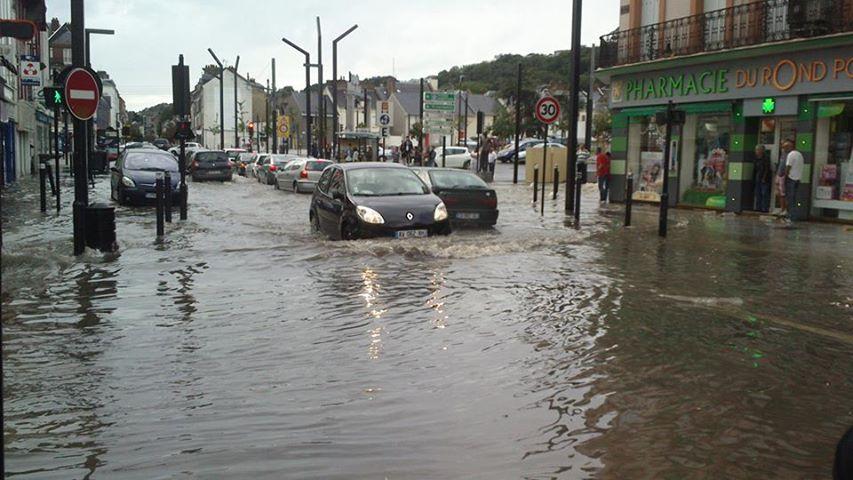 inondation+rond+point