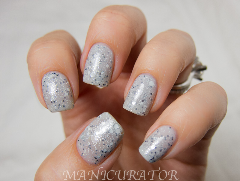 Knockout Speckled Glitter Lexi