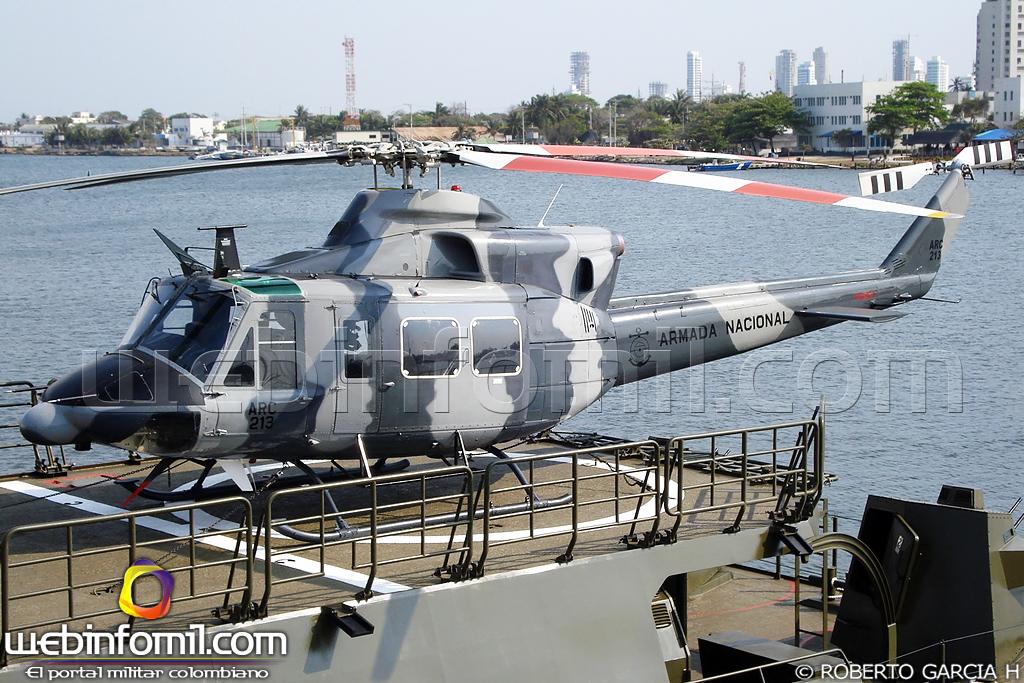 Colombia - Página 38 Bell+412+Armada+Nacional+Colombia+Aviacion+Naval+2