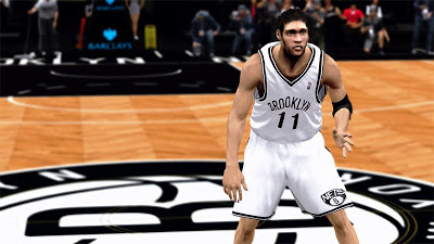 NBA 2K13 Brook Lopez Cyber Face NBA2K Patch