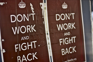 don't work and fight back
