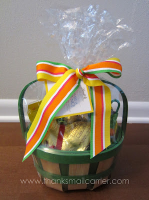 Lindt Hoppy Easter Basket
