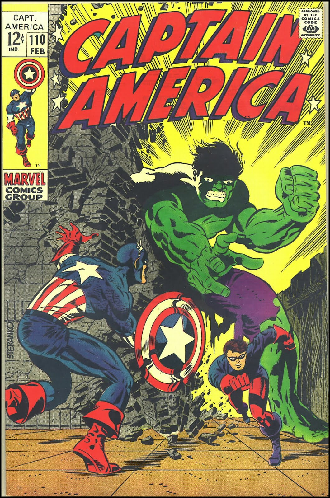 Best Comic Book Cover Artists : Fantasy ink steranko s captain america