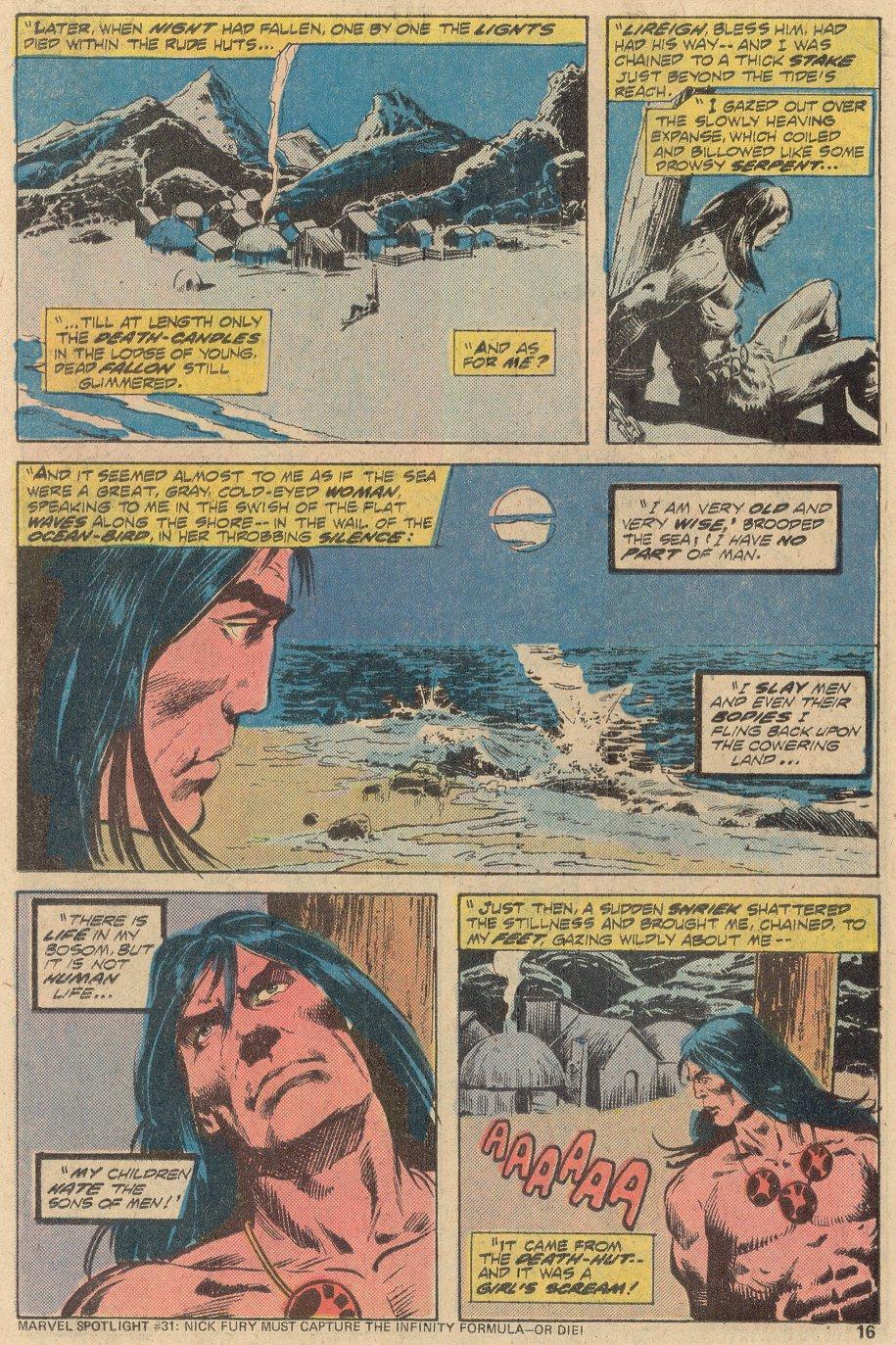 Conan the Barbarian (1970) Issue #69 #81 - English 11