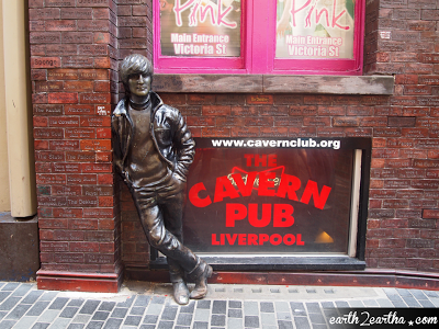John Lennon Statue at Cavern
