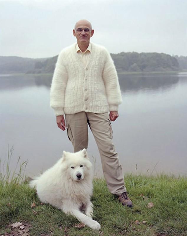 Ropa de abrigo de pelo de perro