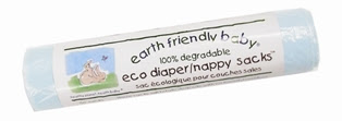 Earth Friendly Baby Nappy Sacks
