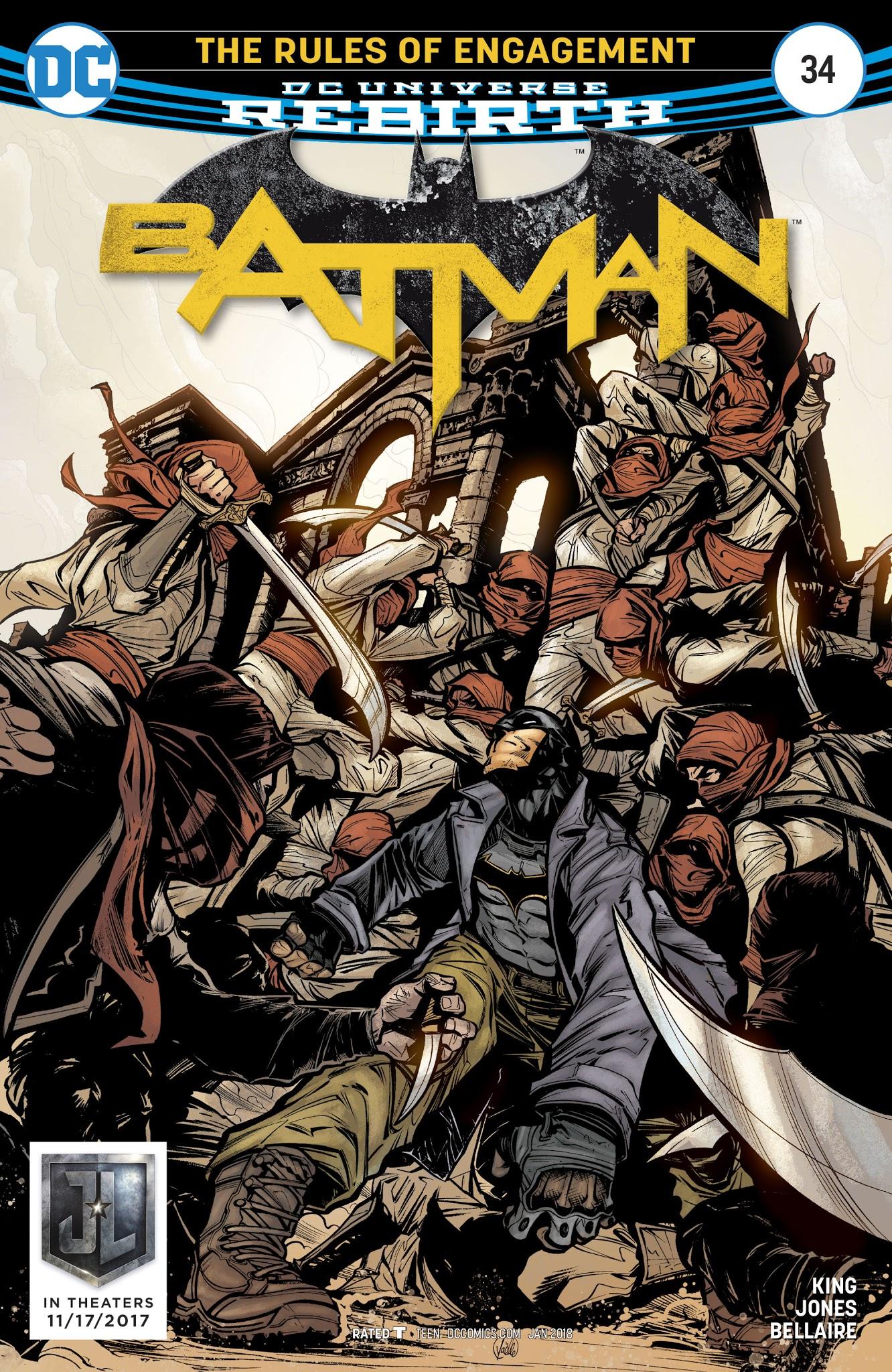 Batman (2016) 34 Page 1