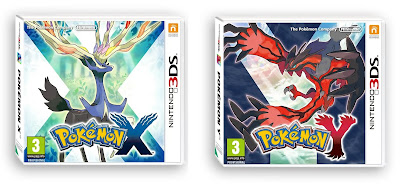 Pokemon X And Y Box Arts