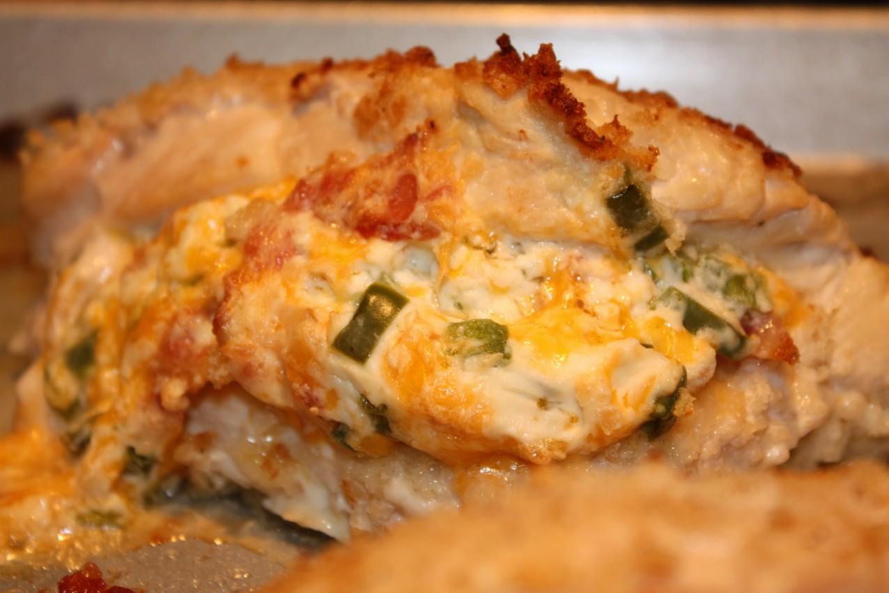 Cheesy Jalapeno Popper Baked Stuffed Chicken Recipes — Dishmaps