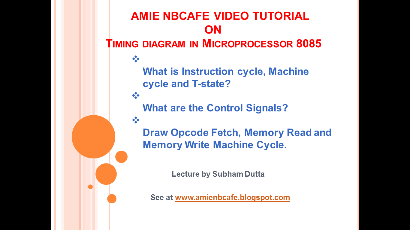 Amie student forum video tutorial on how to draw timing diagram on video tutorial on how to draw timing diagram on microprocessor 8085 in this video tutorial ccuart