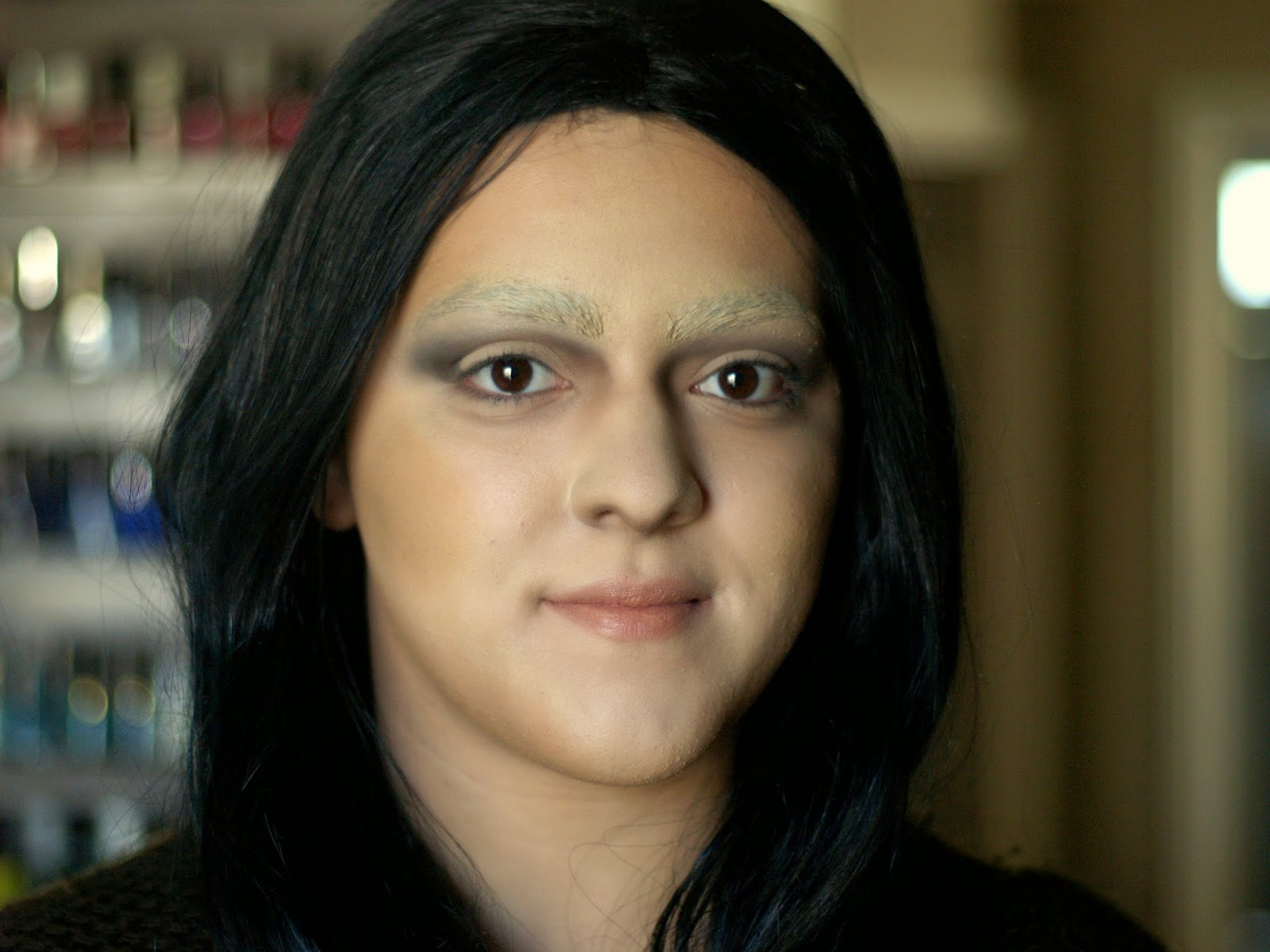 Mona Lisa Makeup