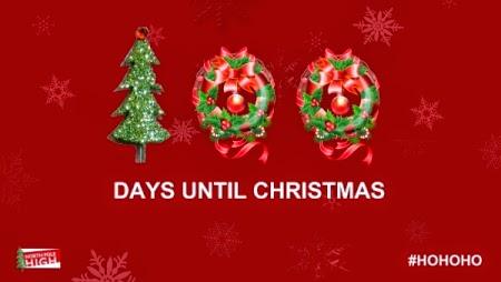 100 Days Until Christmas