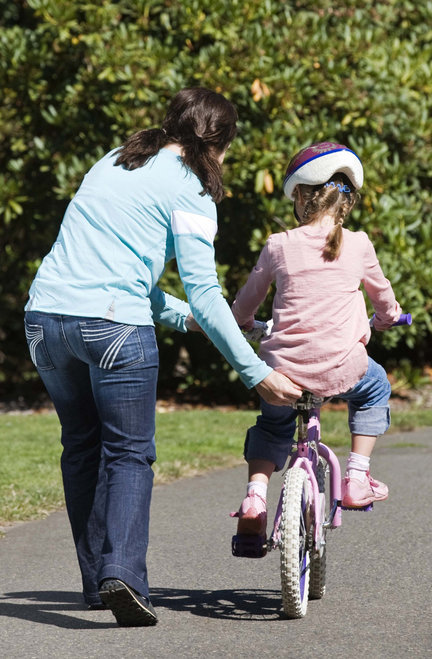 learning to ride a bicycle In this post we challenge the common metaphor for the gradual release of responsibility: teaching a child to ride a bike we suggest that, instead of us.