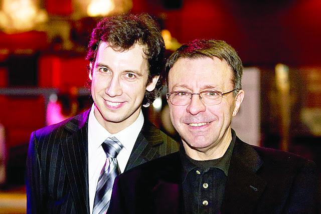 Даниил Костинский (слева) и Жан Мари Бурсико.