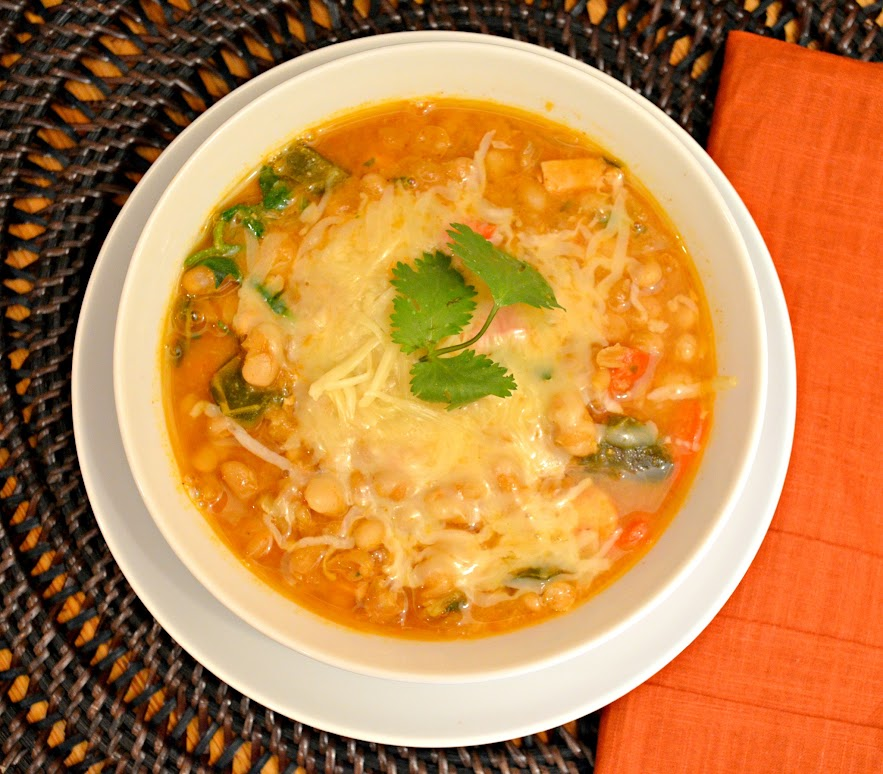 White Bean Chicken Chili | Serena Bakes Simply From Scratch
