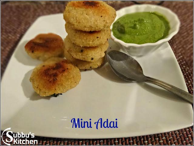 Mini Adai