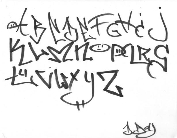 Graffiti soul cool graffiti alphabet styles - Letter a graffiti style ...