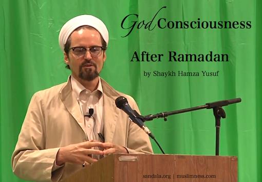 hamza yusuf eid speech video sandala zaytuna