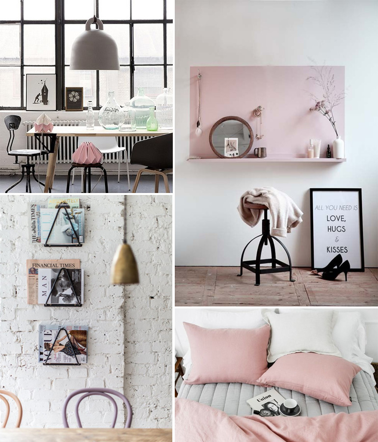 une d co pastel x industrielle louise grenadine blog. Black Bedroom Furniture Sets. Home Design Ideas
