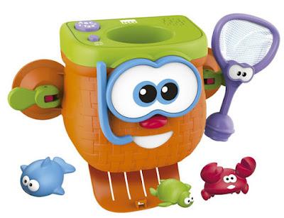 JUGUETES - Kidz Delight Cesta de la pesca | Juguete de baño | Fishing Basket Producto Oficial 2015 | Cefa Toys 2015 | A partir de 18 meses Comprar en Amazon España