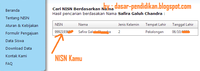 Cara Cek NISN SD, SMP, SMA Secara Online