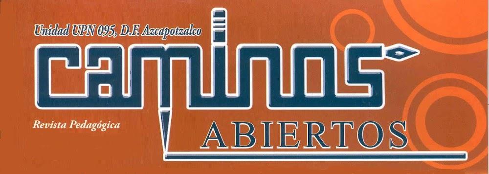 Revista Caminos Abiertos 2013