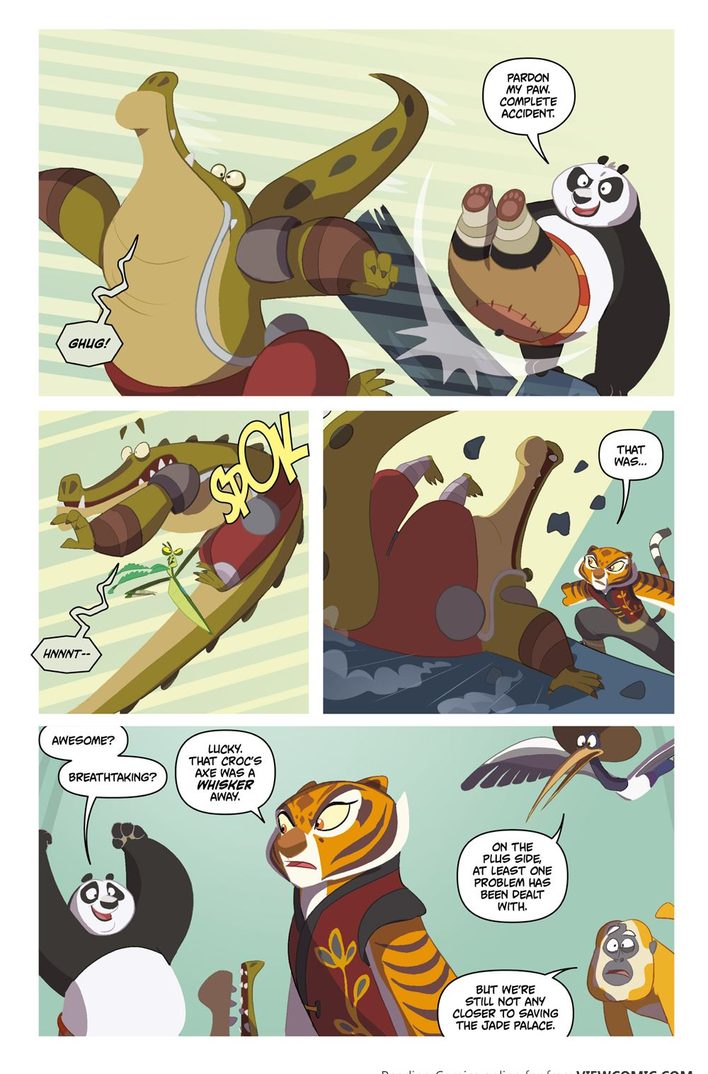 Kung fu panda comic